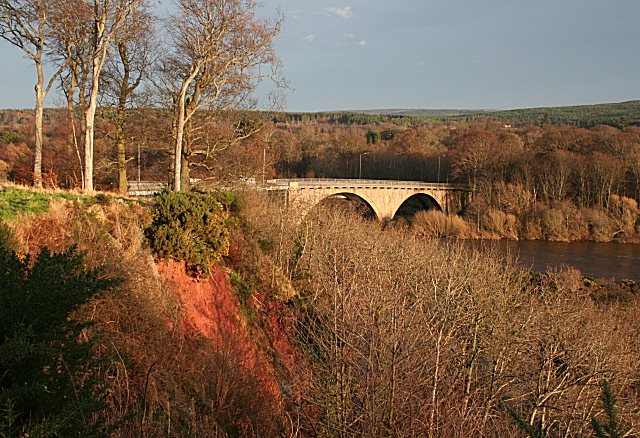 Spey Bridge from Inchberry Road