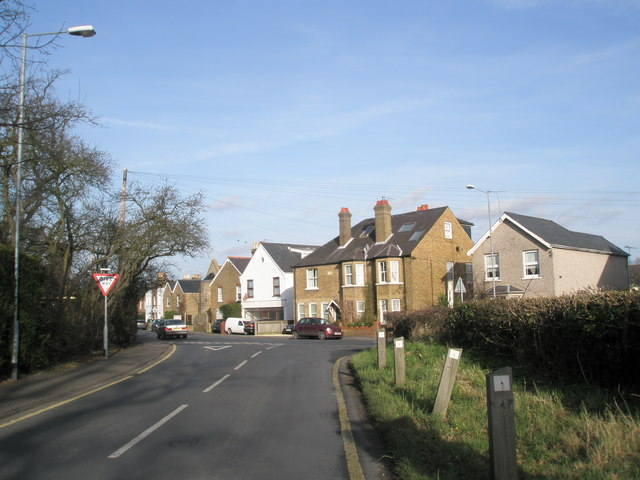 Junction of Crimp Hill and St Luke's Road