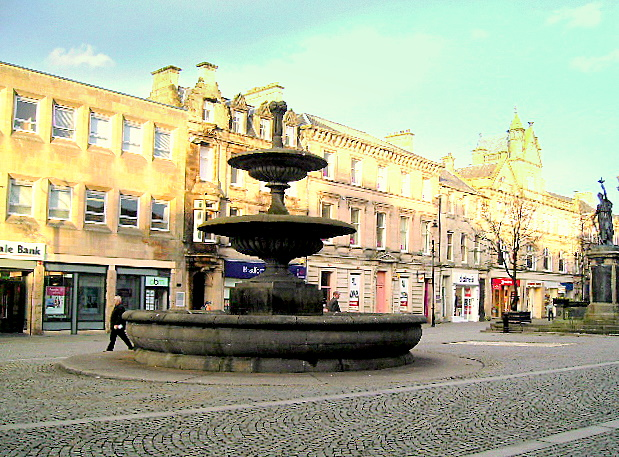 The Fountain, Elgin