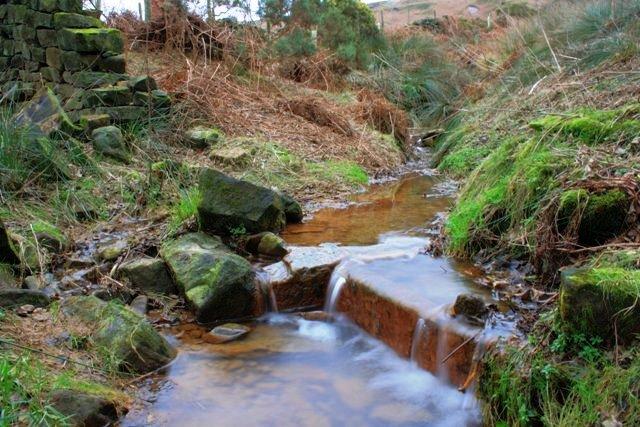 Stream near High Cowhelm Farm