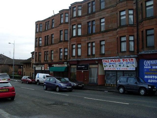 Tenements on Dumbarton Road, Dalmuir