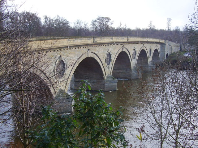 Bridge over River Tweed at Coldstream