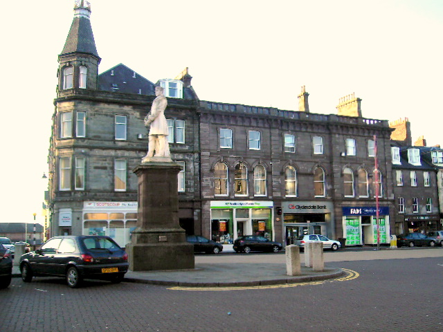 The John Hume Statue, Montrose
