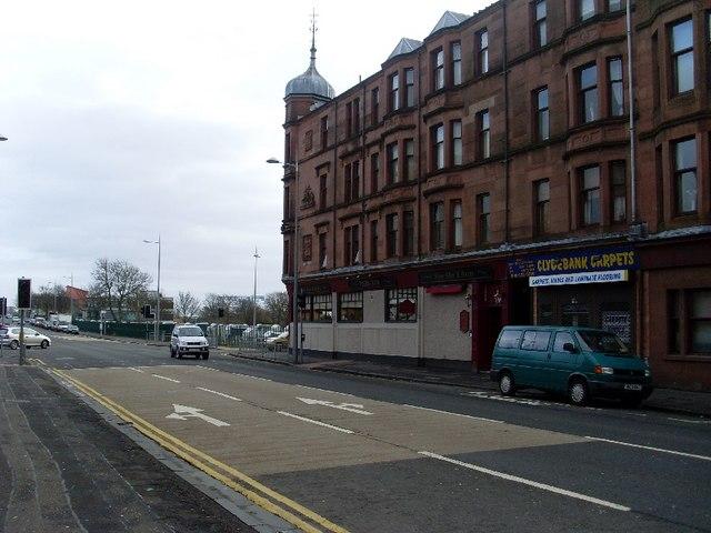 Tenement on Dumbarton Road, Dalmuir