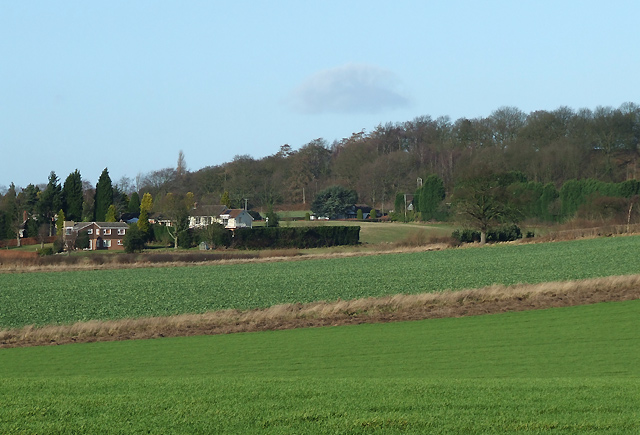 Fields near Long Common, Staffordshire