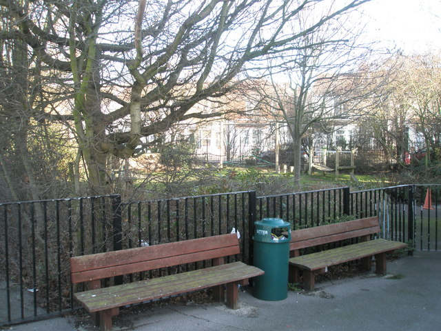 Bench by Fernhurst Junior School