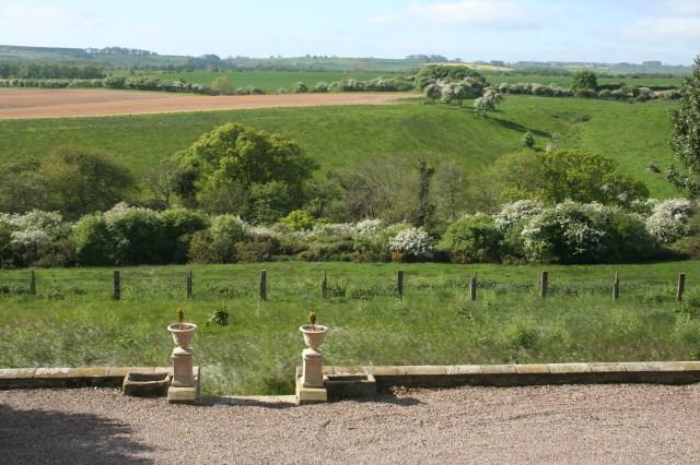 View south from Alndyke farmhouse