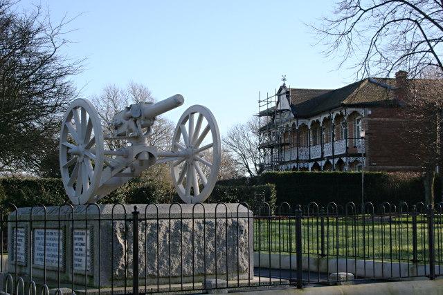 The Doris Gun in Devonport Park