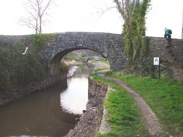 Bridge 114, empty canal