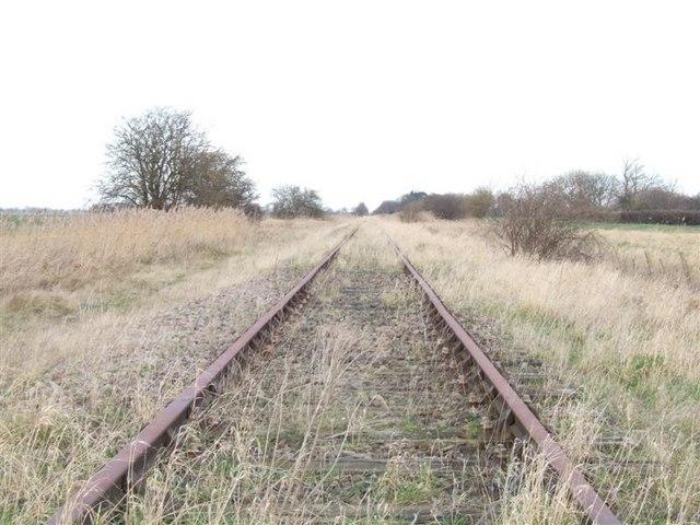 Bramley Line heading towards Coldham.