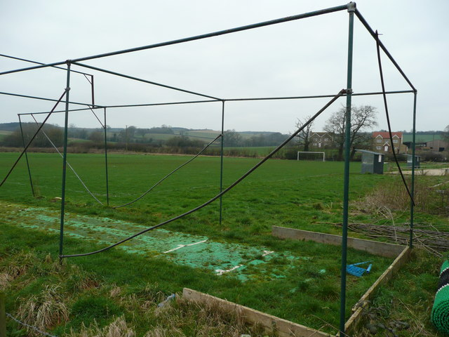 Sports field at Witham Friary