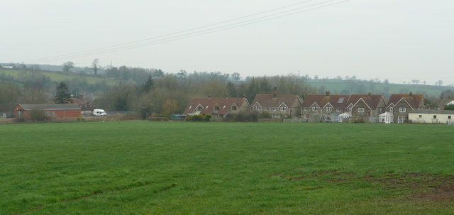 Witham Friary - view across the fields
