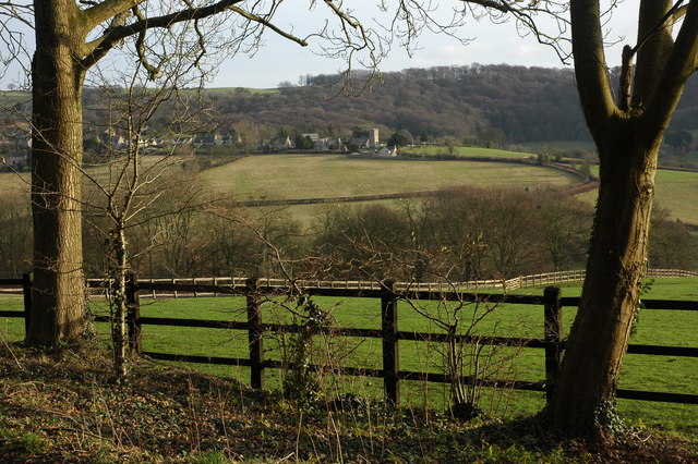 View from the edge of Buckholt Wood