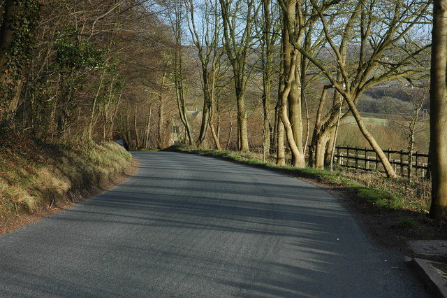 The road to Cranham