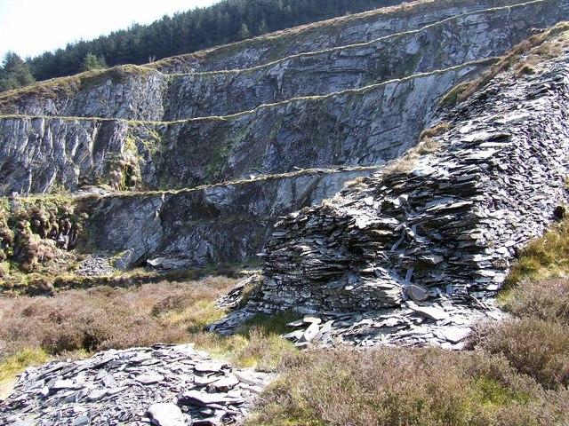 Levels at Bellstone Quarry
