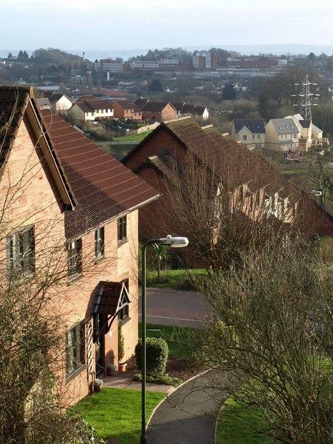 Houses on Heron Way, Torquay