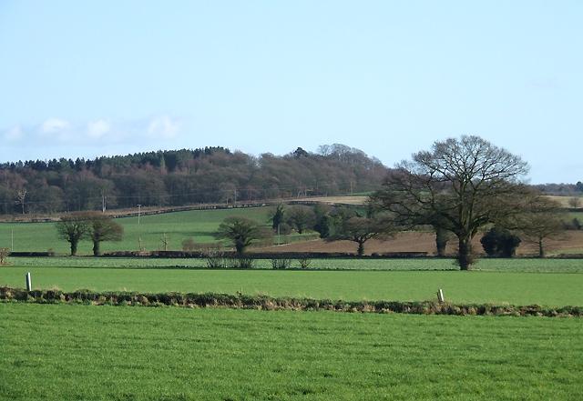 Farmland near Halfpenny Green, Staffordshire