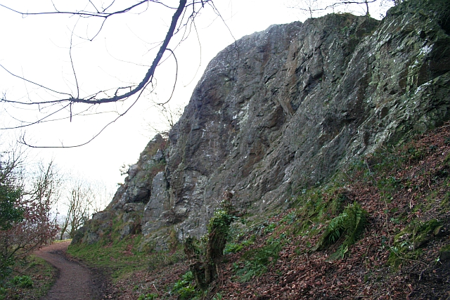 Ivy Scar Rock, North Hill