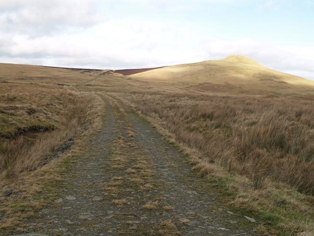 Moorland road, Peelbraehope