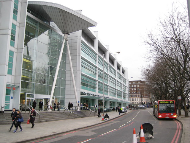 University College Hospital, 235 Euston Road, NW1