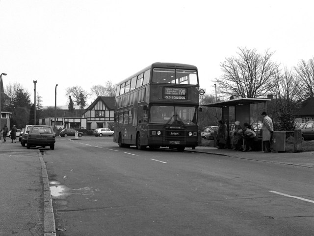 Old Coulsdon bus terminus