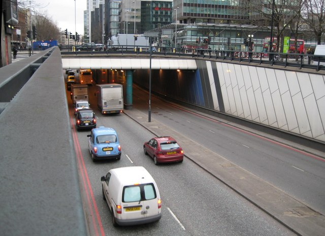 A501 Euston Road Underpass (1)