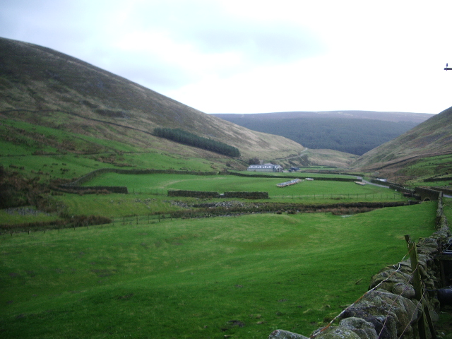 View of the Brennand Valley
