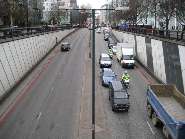 A501 Euston Road Underpass (2)