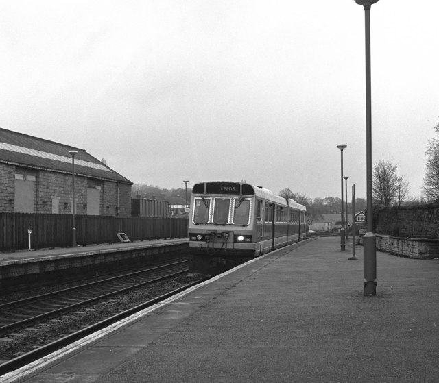 Horsforth station, looking north