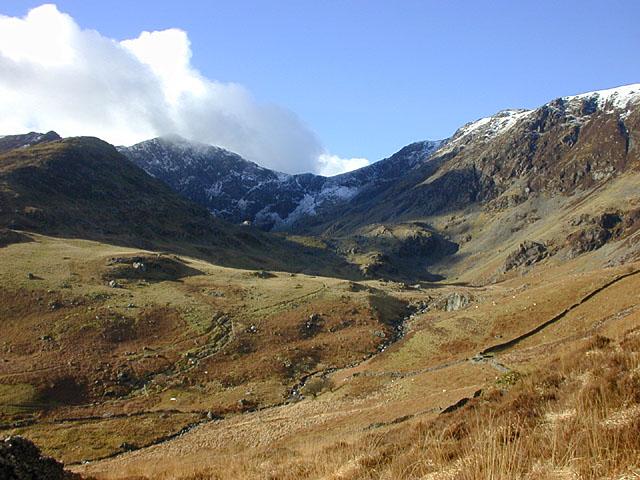 Cwm Cau, from the lower slopes of Mynydd Moel