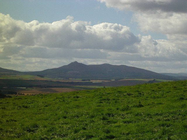 Hill of Barra Fort - Looking towards Bennachie