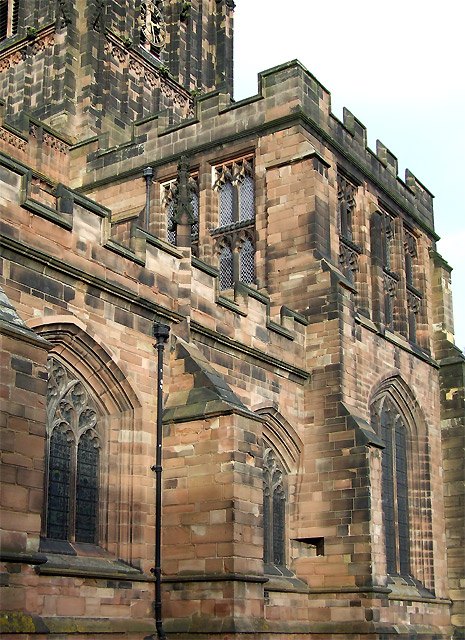 St Peter's Church (detail), Wolverhampton