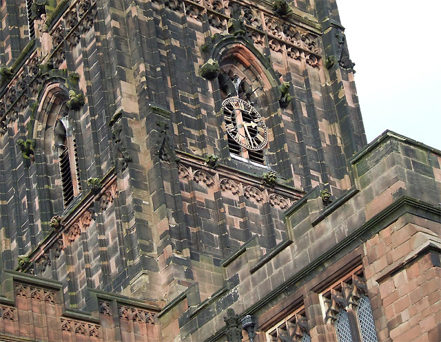 St Peter's Church Tower (detail), Wolverhampton
