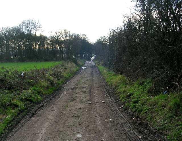 Footpath - off Westerton Road
