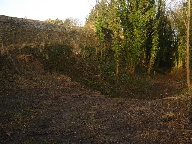 Farnham Castle Moat