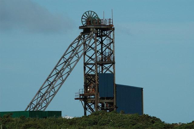 Anglesey Mining Headframe