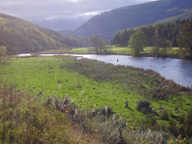 River Tweed, east of Cardrona
