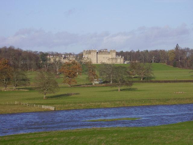 River Tweed and Floors Castle