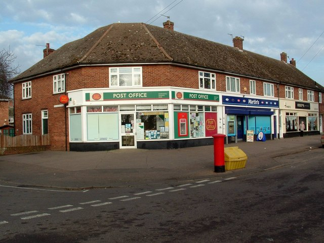Post Office and other shops, Tuckswood Centre