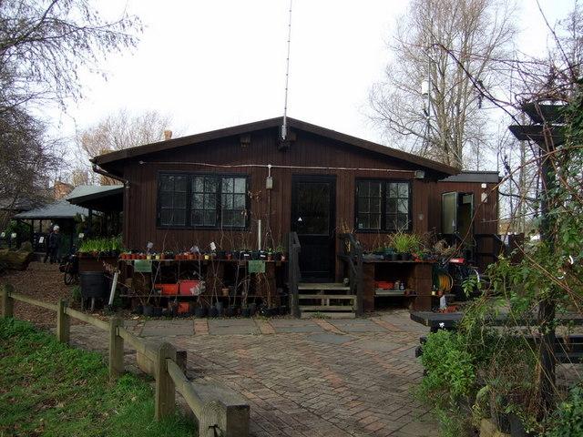 Visitor centre at Camley Street Natural Park
