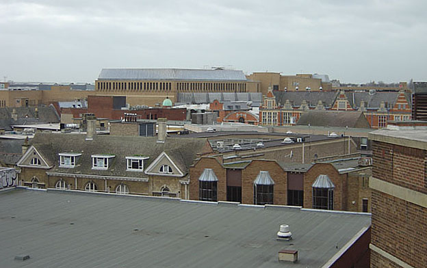 View from the Market Car Park