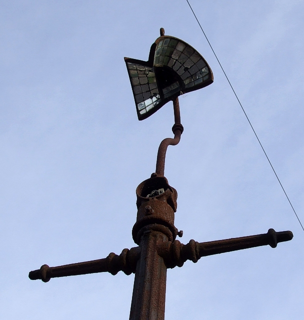 Old Lamppost - Close-up