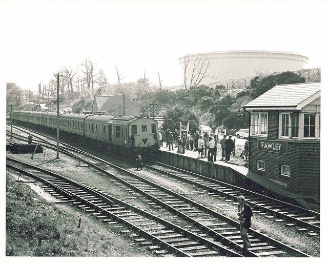 The Fawley Flyer Railtour.