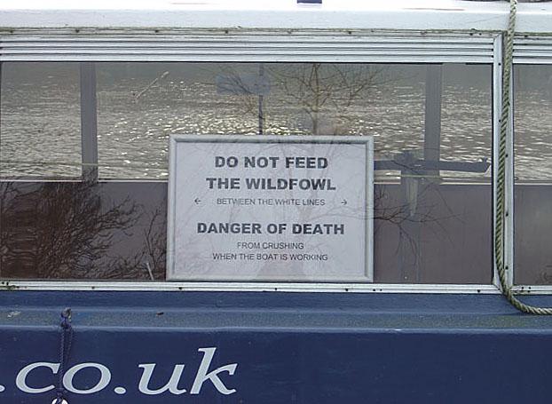 Death by feeding!