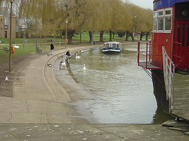 River Embankment looking east