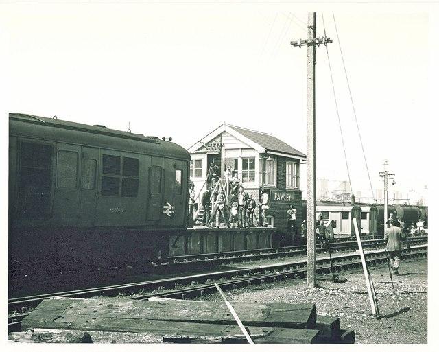 Fawley Refinery Signal Box.