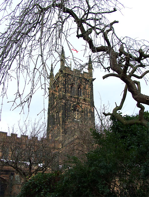 St Peter's Church Tower, Wolverhampton