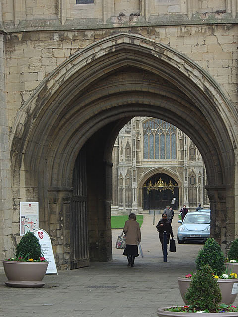 Cathedral gateway