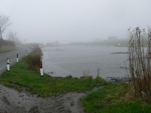 Pond at Gwaenysgor
