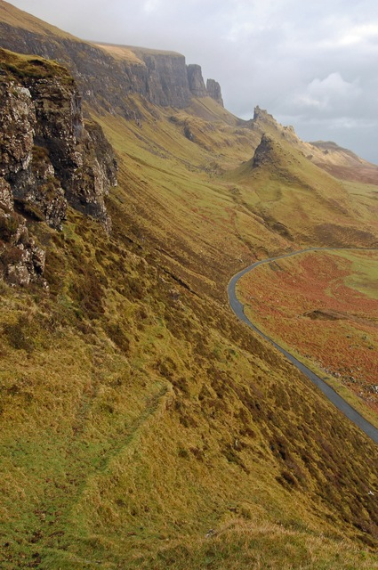 View to the Quiraing